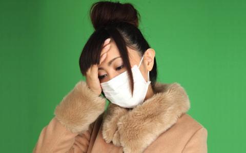 インフルエンザの症状が軽い