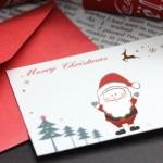 クリスマスカードを出す時期はいつ?