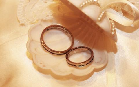 チタンの結婚指輪ならアレルギー大丈夫