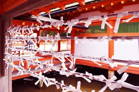 厳島神社のおみくじの種類