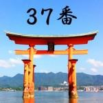 厳島神社のおみくじ37番/鵜羽産屋兆 平