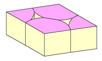 円形をひし形にする3