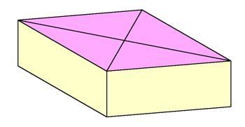 正方形をひし形にする3