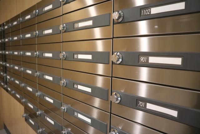長期不在時の郵便
