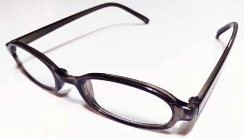 100均のメガネ