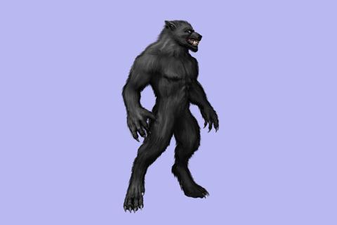 狼男の画像