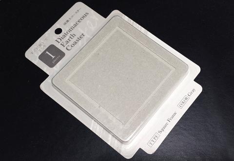 フランフランの珪藻土コースター