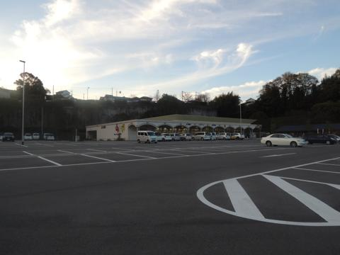 奥河内クロマロの郷の駐車場