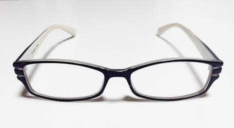 老眼鏡をかけたりはずしたり面倒