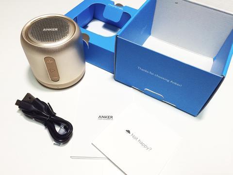 Anker SoundCore miniの使い方