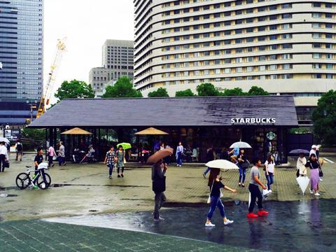 ジョーテラス大阪のスターバックス