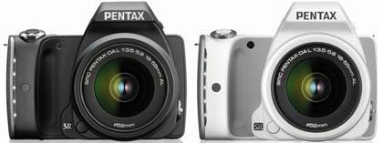 PENTAX K-S1の黒と白