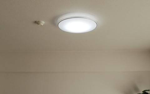 LEDシーリングライト調光で暗い