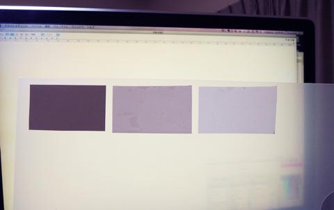 光拡散フィルムを比較